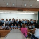 St Mary's 2nd and 3rd Grade classes made breakfast and sang to the moms 9/2016